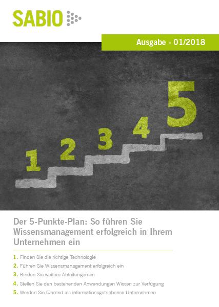 Sabio 5-Punkte-Plan