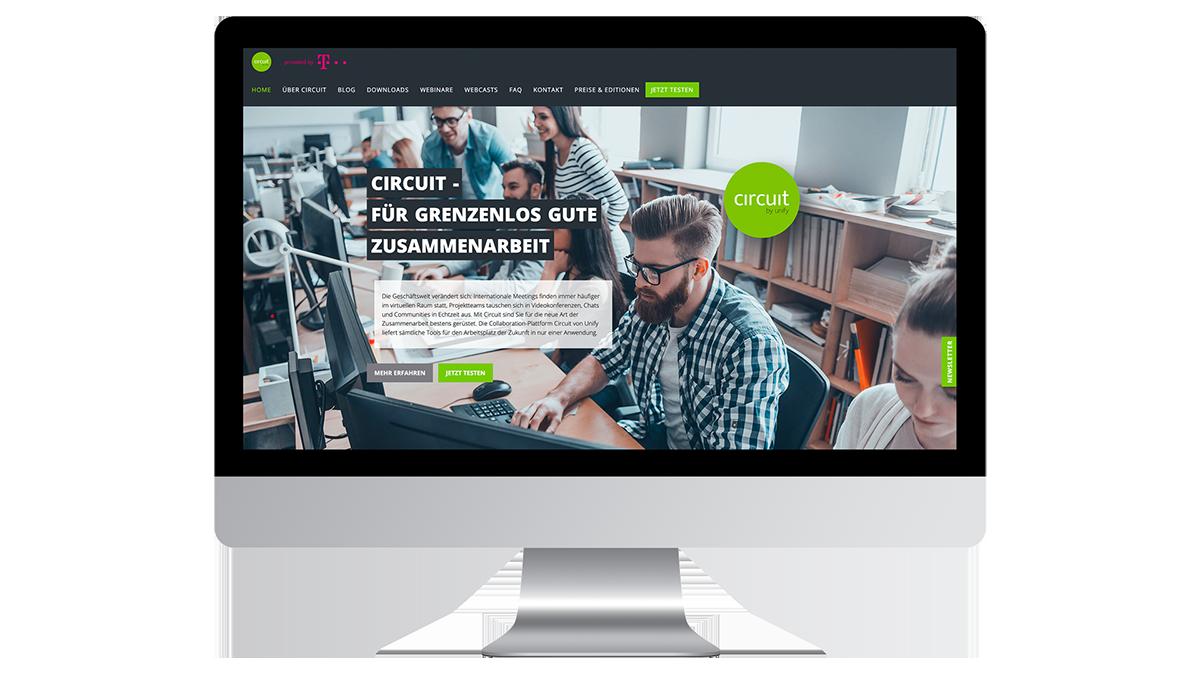Unify Circuit Website