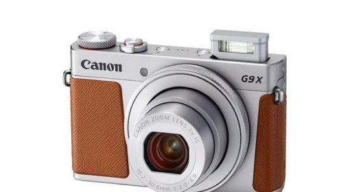 Kamera PowerShot G9X Mark II   Silver Flash Up FSL