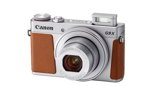 Kamera PowerShot G9X Mark II   Silver Flash Up FSL