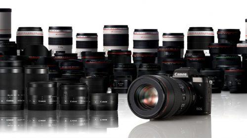 Kamera EOS M5 System w EF LENS