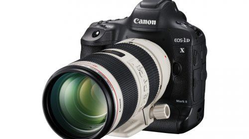 Kamera EOS-1D X Mark II EF 70–200 mm USM FSL