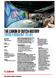 Digital Museum: The Canon of Dutch History