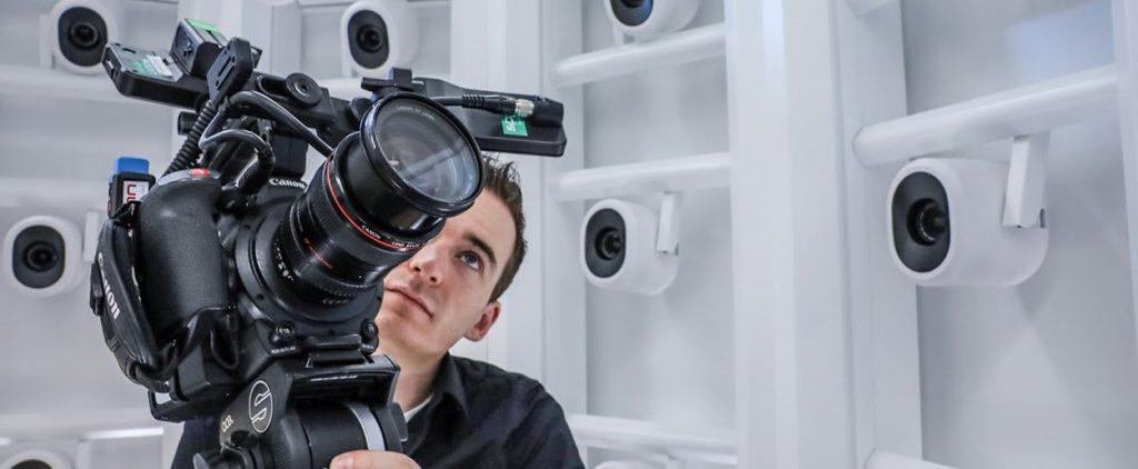 Canon Kamera für Machinevision