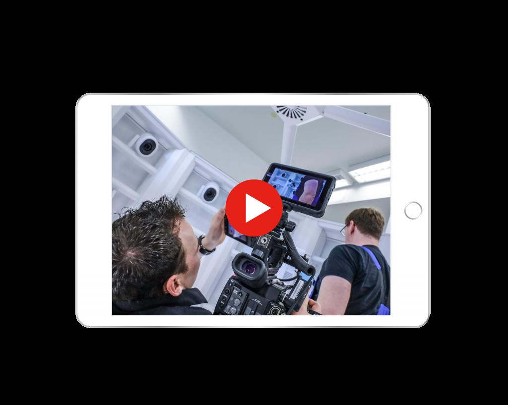 ipad video play professionelle Kamera