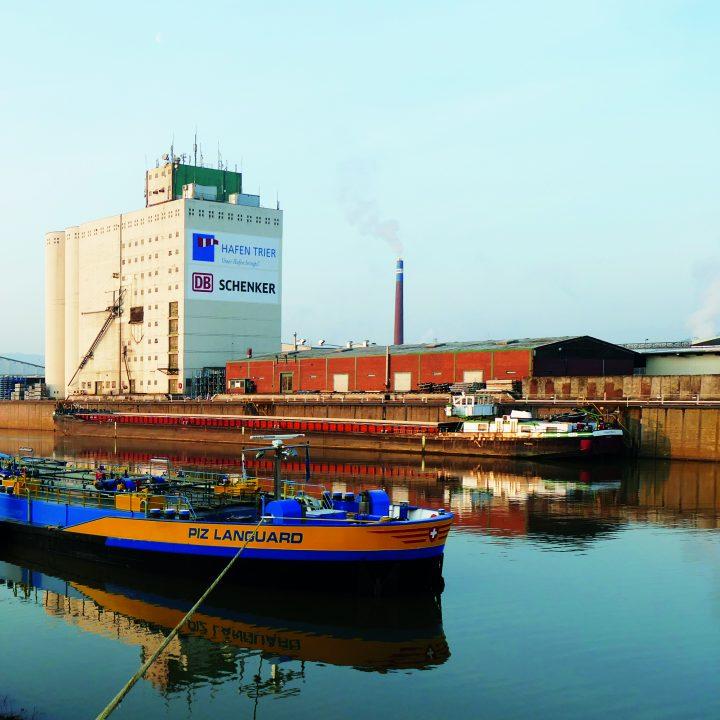 Hafen Trier Binnenschiffahrt