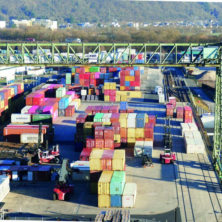 Hafen Trier Kontainer