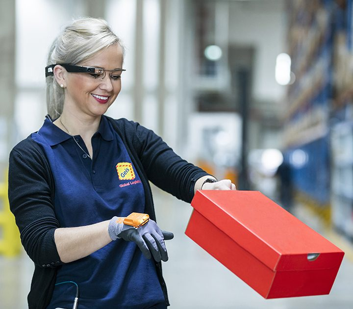 Mitarbeiterin Geis Global Logistics