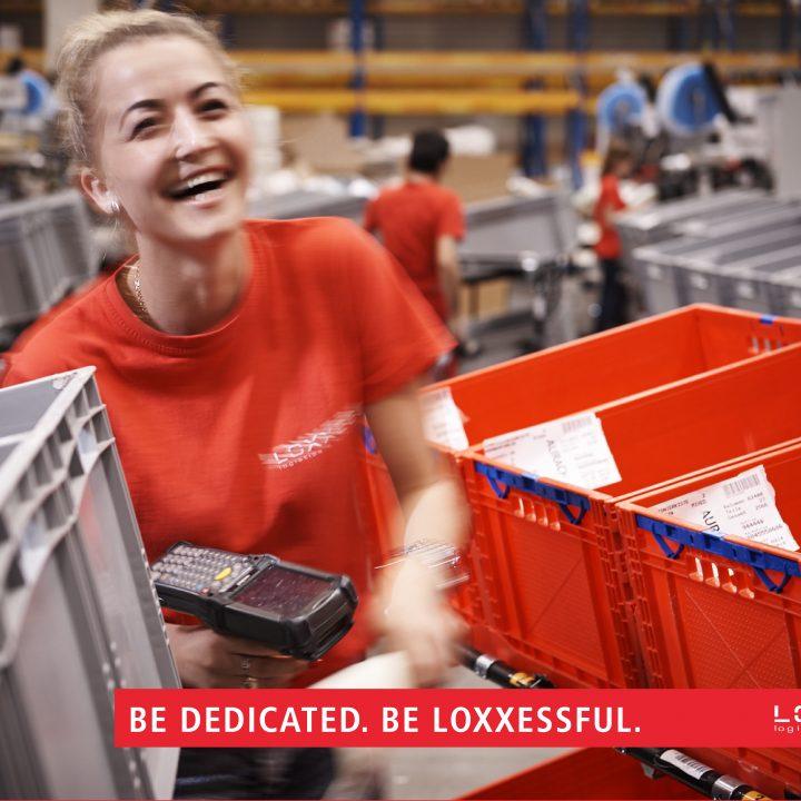 Versandmitarbeiterin LOXXESS