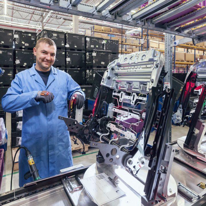 Reichhart Produktion Mitarbeiter
