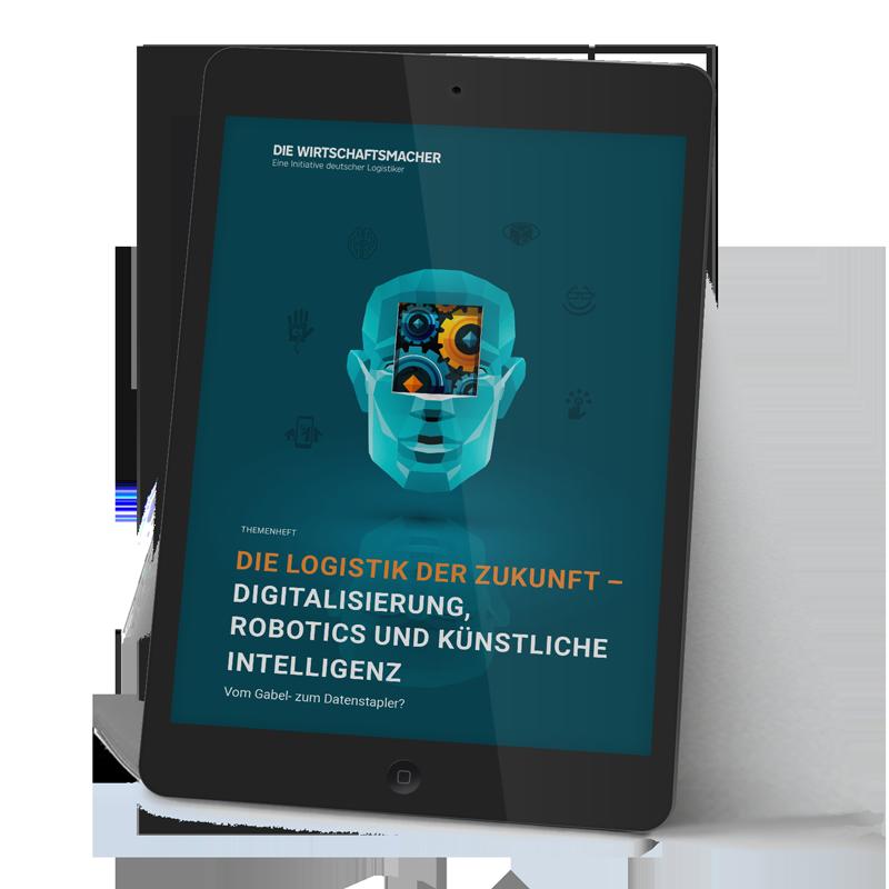 Themenheft Logistik - Digitalisierung Robotics Künstliche Intelligenz