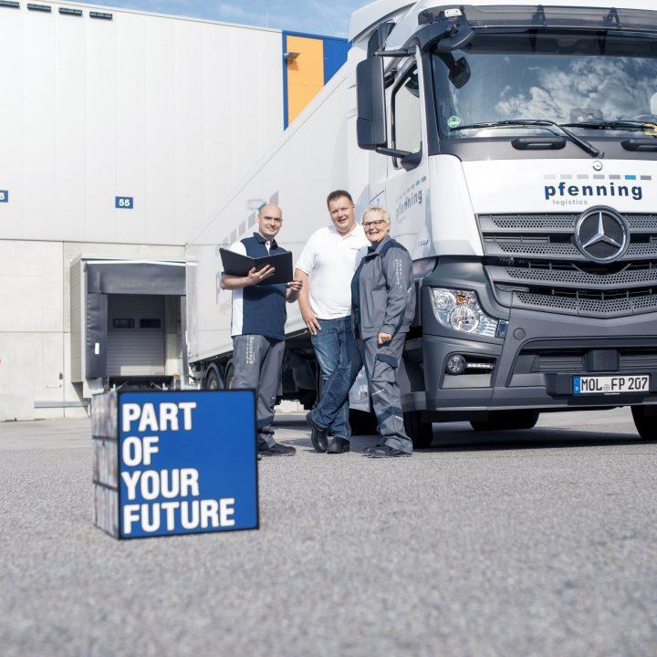 LKW-Fahrer Pfenning Logistics