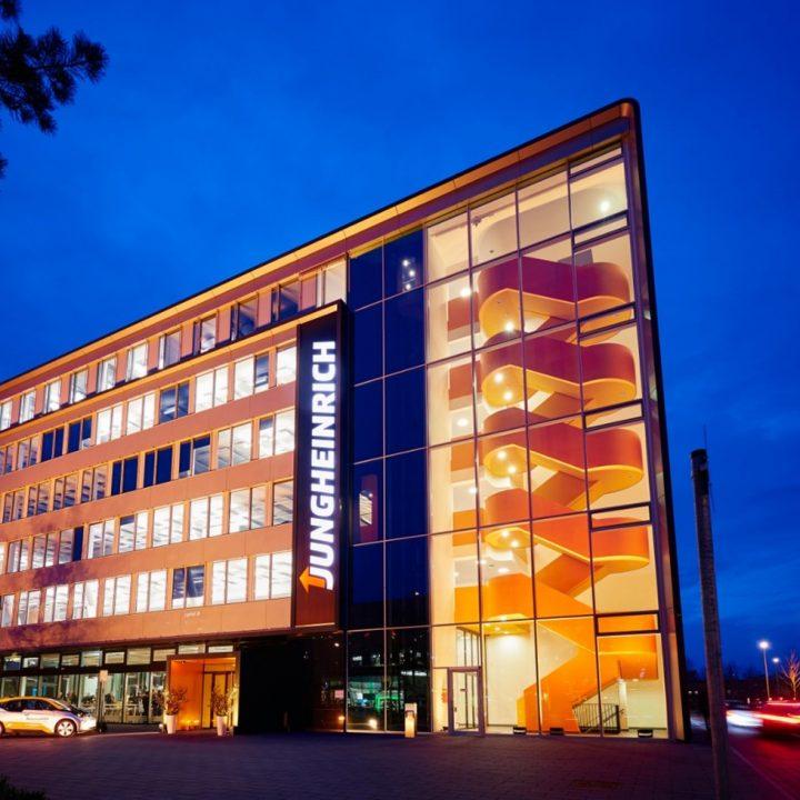 Zentrale Gebäude Jungheinrich