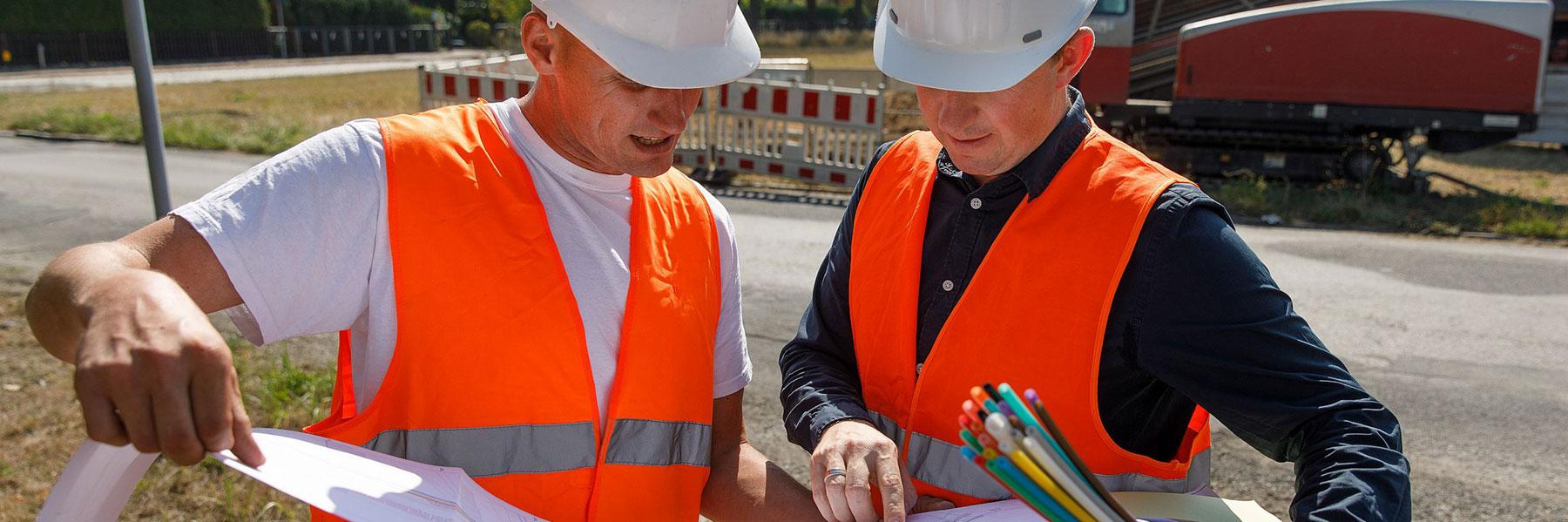 Glasfasernetzausbau für Unternehmen in Schmölln