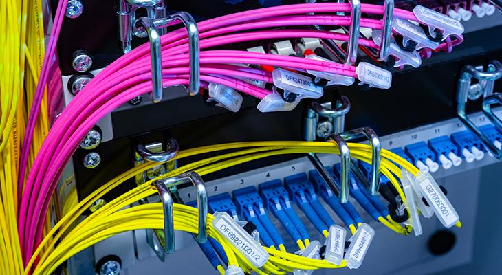 Anbindung ans Datacenter Leipzig