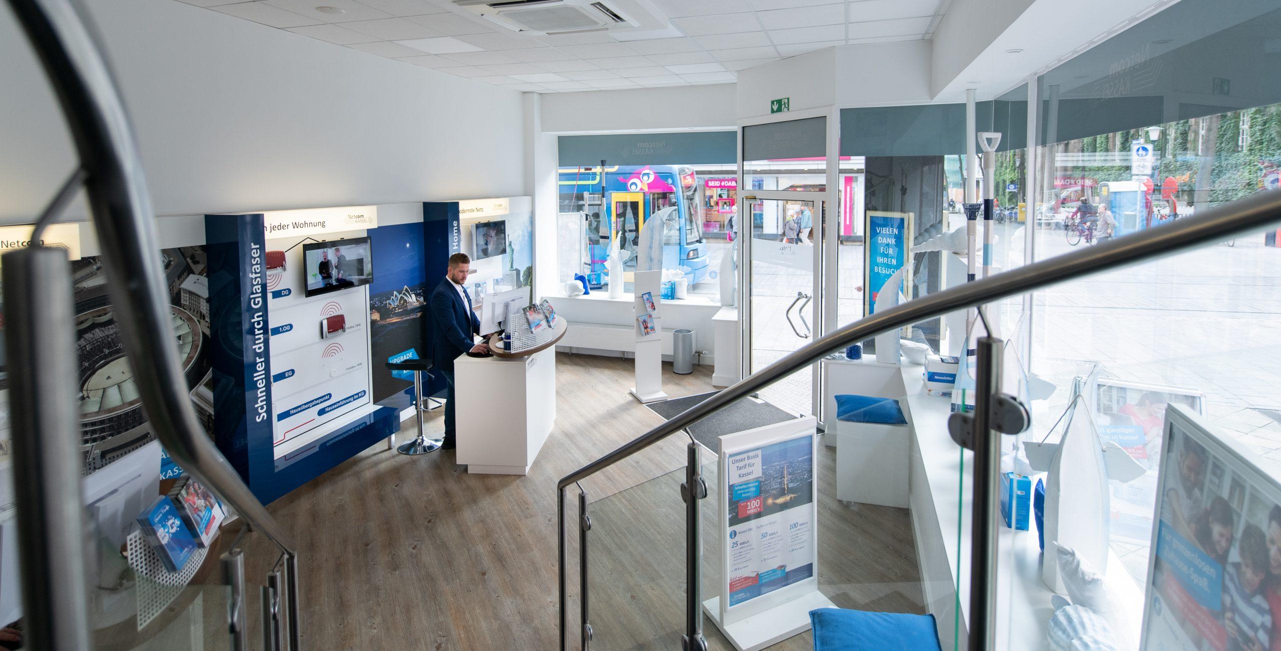 Netcom Kassel schließt Shop