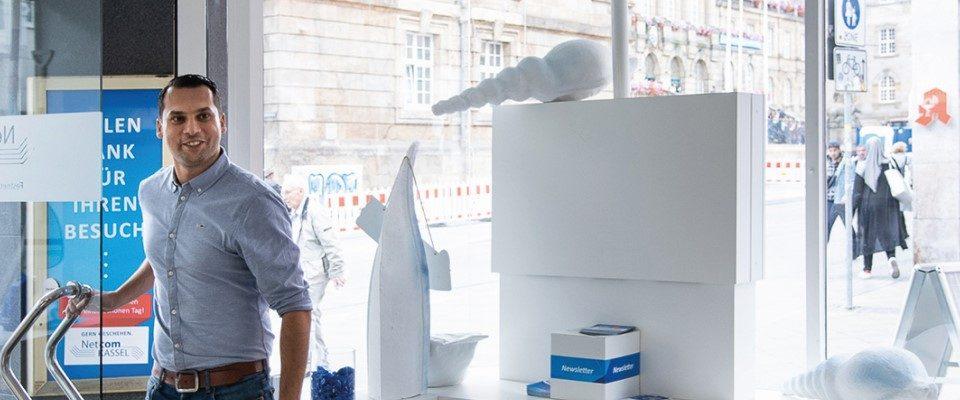 Herzlich willkommen! Am kommenden Mittwoch, 29. April, öffnet die Netcom Kassel wieder ihren Shop in der Oberen Königsstraße 23