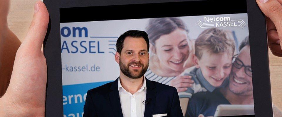 Netcom Kassel geht in Corona-Zeit neue Wege: Youtube-Infoveranstaltung