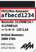 Kennwort Box