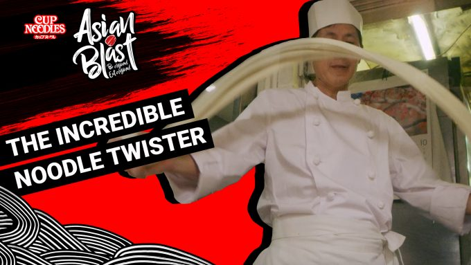 Video: The incredible noodle twister