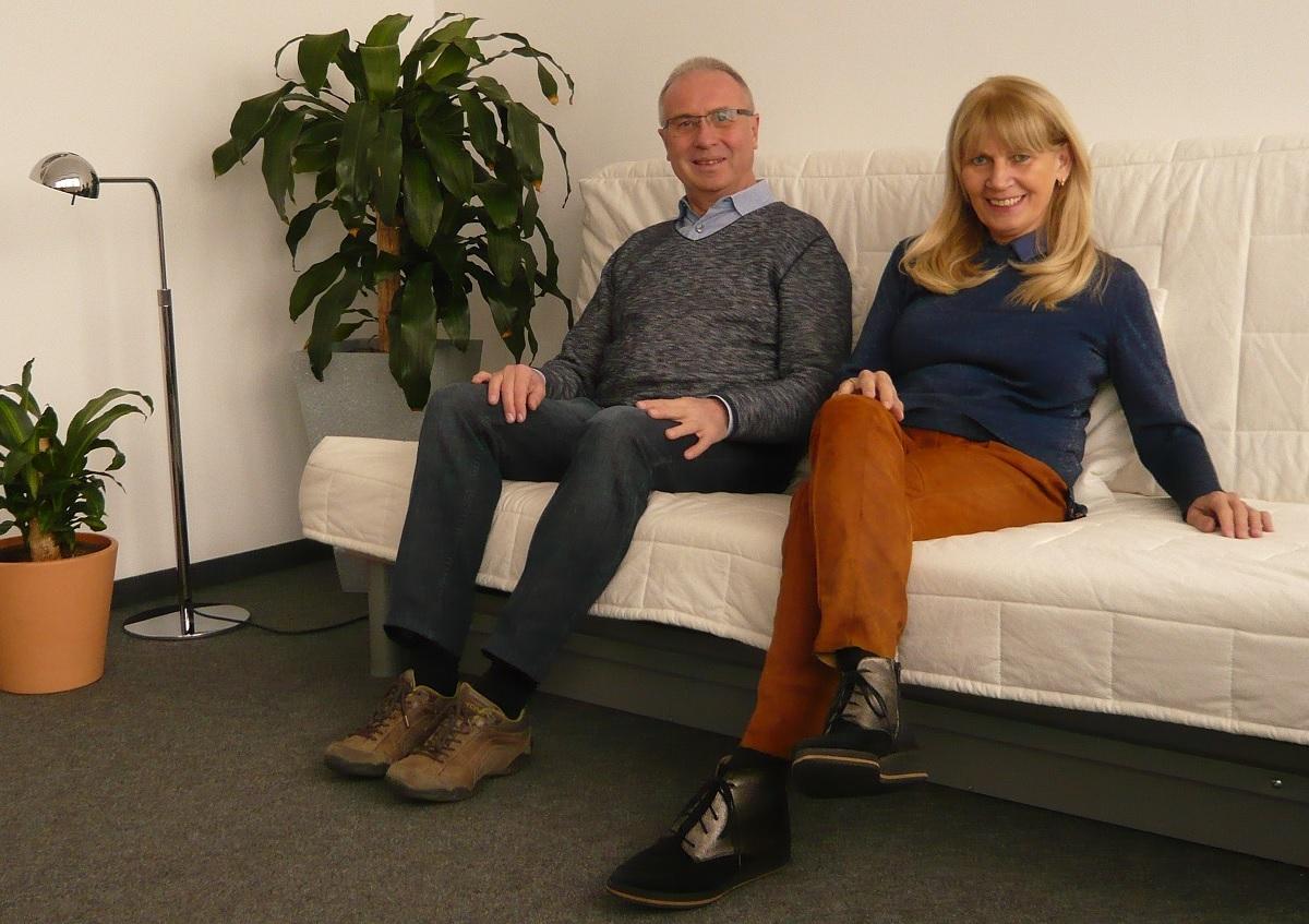 Dietmar Simon und Rita Kiefhaber